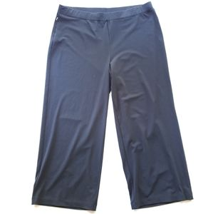 TOMMY BAHAMA Black Stretch Crop Pants Size M